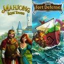 mahjong + fort defense