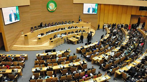 African Union Summit on January 30, 2014 at headquarters in Addis Ababa, Ethiopia. by Pan-African News Wire File Photos