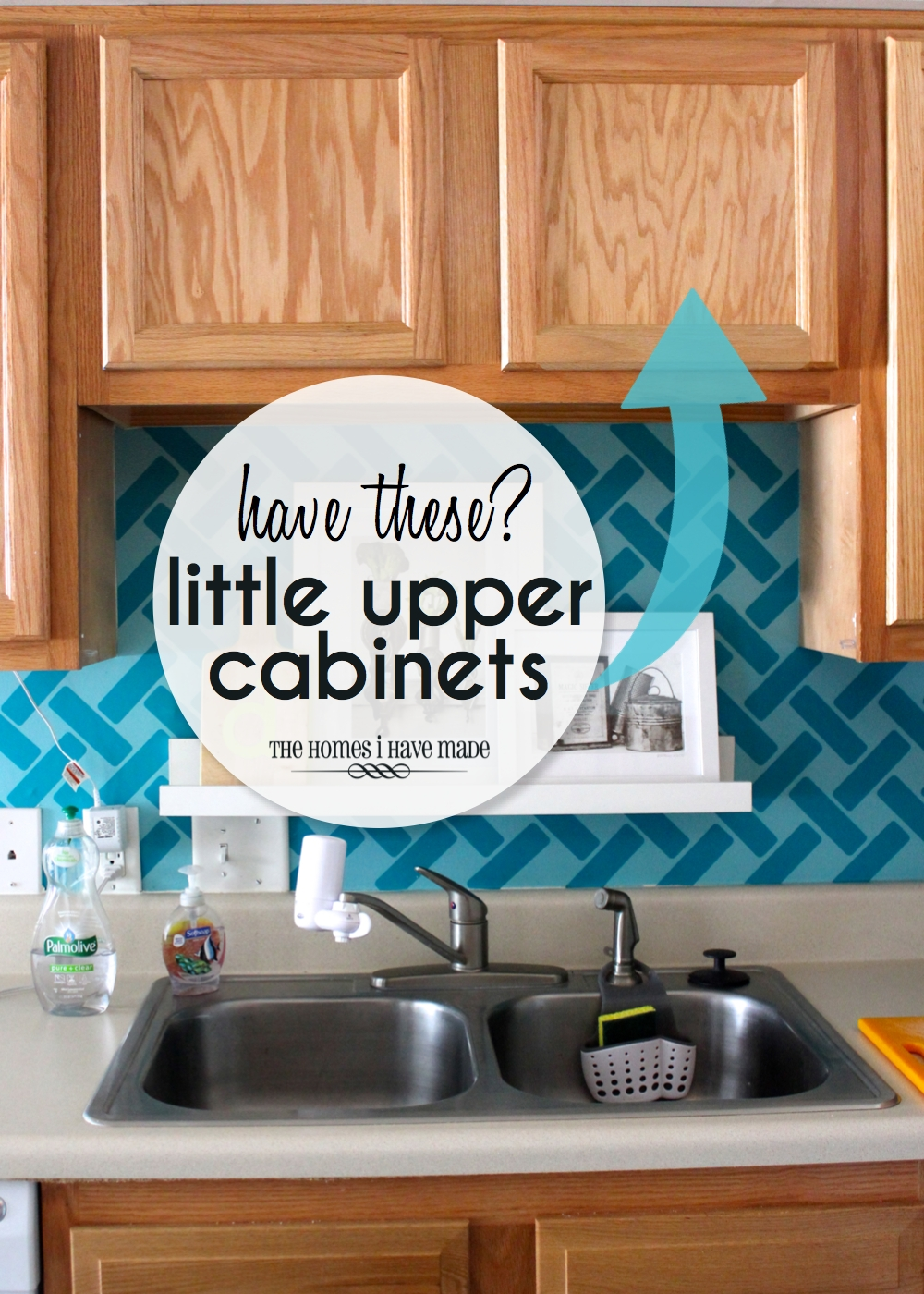 Storage Ideas for Little Upper Cabinets | The Homes I Have Made