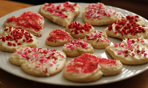 Valentine's Day Sugar Cookies 2