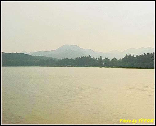 杭州 西湖 (其他景點) - 251 (在西湖十景之 蘇堤上望向西裡湖的黃昏)