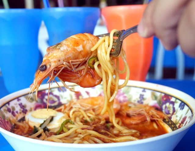 Halal or Muslim friendly food outlets Penang Ayu Mee Udang, Teluk Kumbar-004