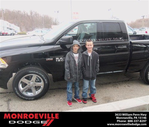 Happy Anniversary to Kevin M Carper on your 2013 #Dodge #Ram from Ronald Mcclelland  and everyone at Monroeville Dodge! #Anniversary - Copy by Monroeville Dodge