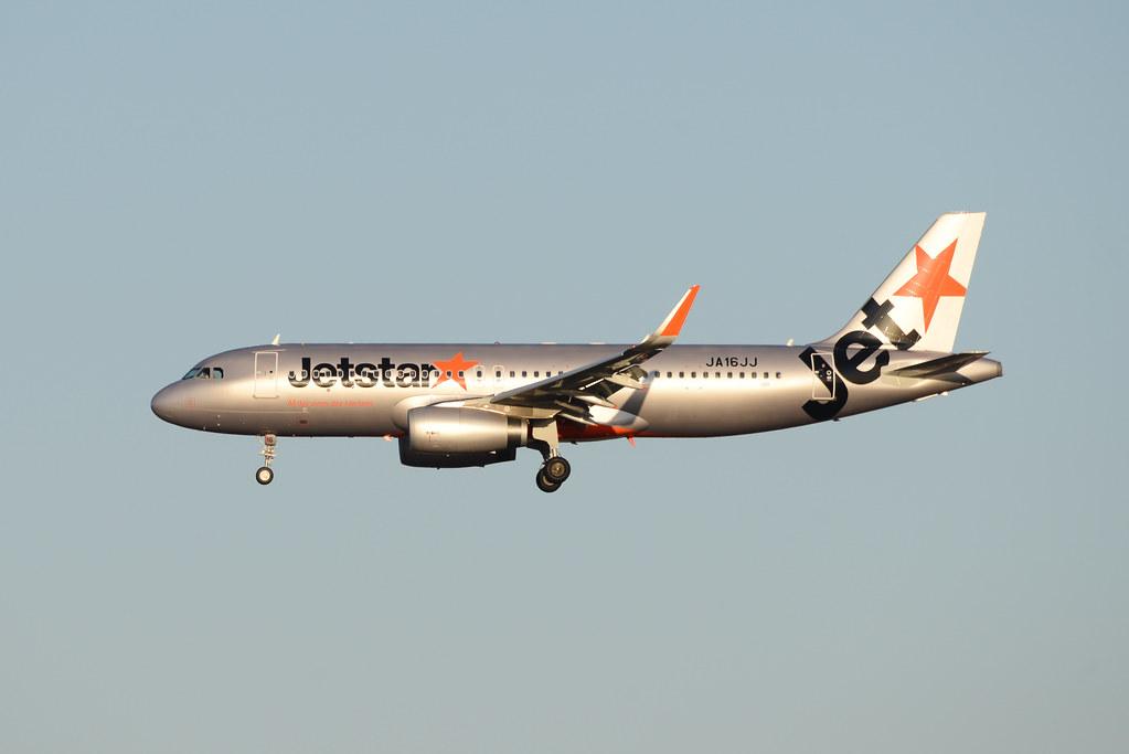JetStar Japn JA16JJ