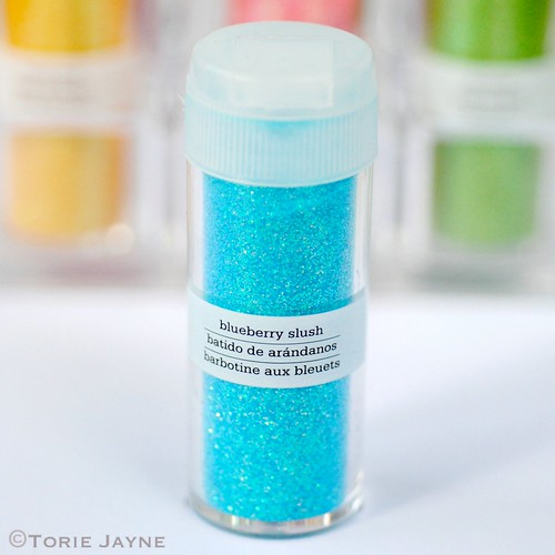 Iridescent Glitter - blueberry slush