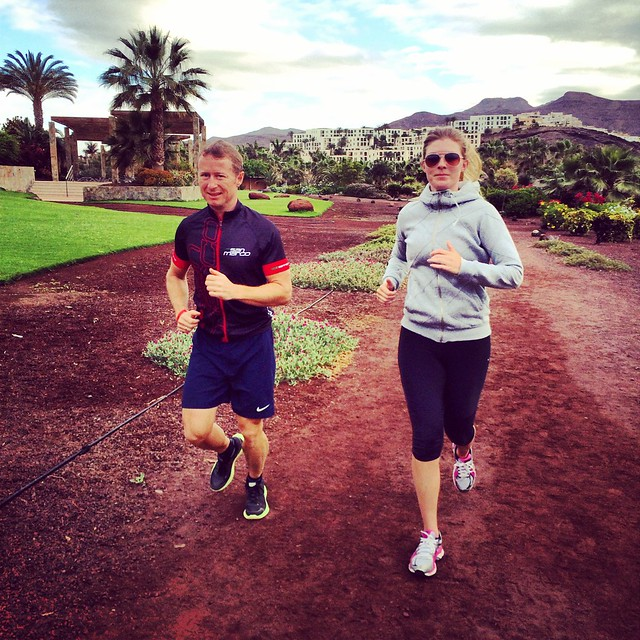 Triallan - Morning run - Playitas Resort - Fuerteventura