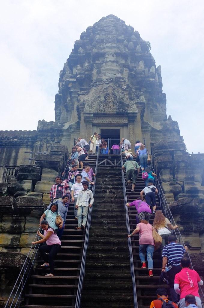 Climbing Angkor Wat1