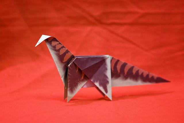 Origami Apatosaurus