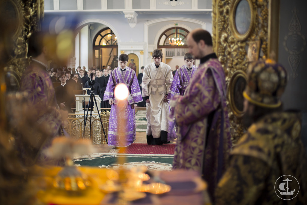 15-16 марта 2014, Богослужения 2-ой Недели Великого поста / 15-16 March 2014, Services of the 2nd Week of Lent
