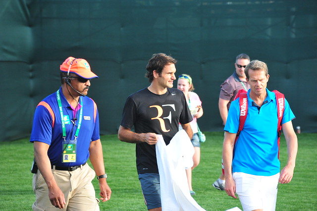 Hey Roger Federer, what does RF stand for?