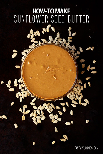 How-to Make Sunflower Seed Butter