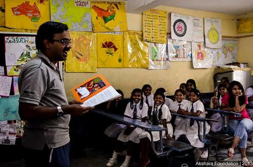 Storytelling at Akshara Foundation