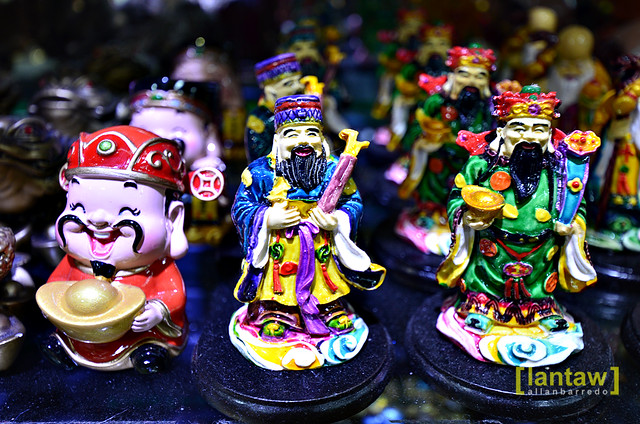 Singapore Chinatown: Figurines