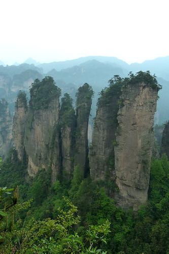 ZhangJiaJie peaks