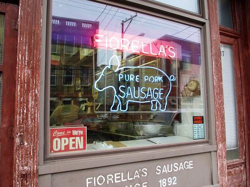 Fiorella's Sausage Stop with Urban Adventures 9th Street Italian Market Tour, Philadelphia