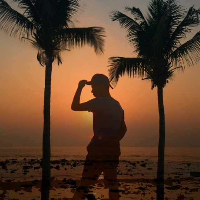 I'll be the one defining who I'm gonna be. #Beach #Sunset #KillMeNow #Silhouette
