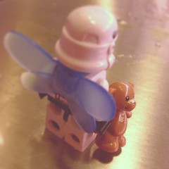 Going home #lego #trooper #starwars #stormtrooper #stockholm #teddy #toys #fairy