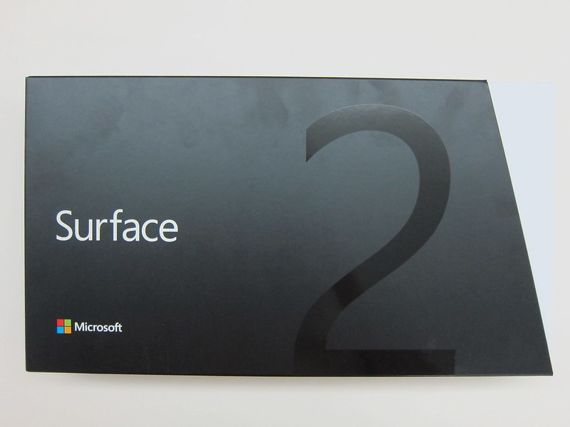 Microsoft Surface 2 - Box Front