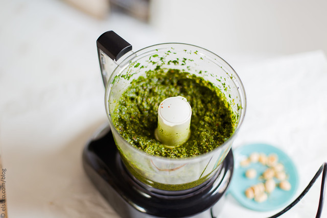 Marcona Almond and Mint Pesto
