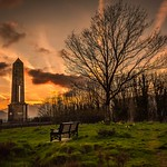 Pontypridd Monument @ Sunset