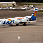 Sanford Florida Allegiant Air N865GA