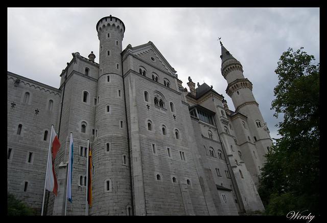 Torreones del castillo Schloss Neuschwanstein