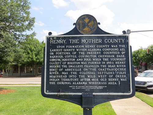 Henry the Mother County Marker (HCC) Abbeville AL