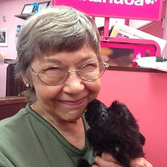 Mom at the pet store!