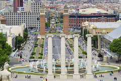 View of Plaza de Espanya