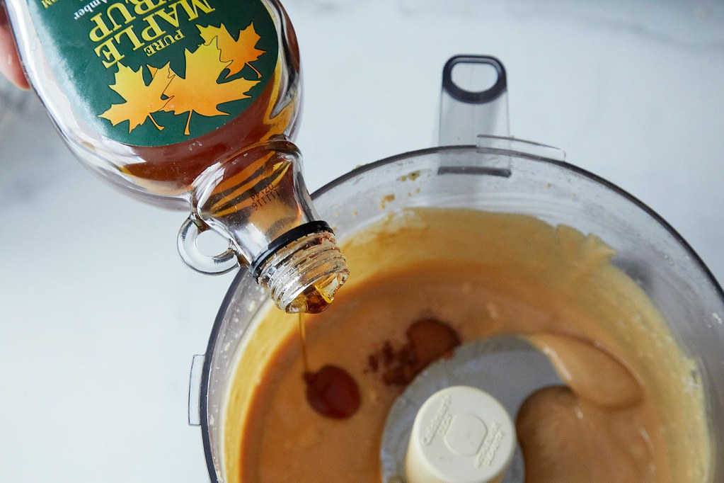 Maple Syrup into Peanut Butter on Food52