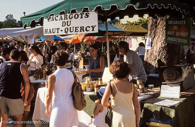 Mercado en Beaulieu