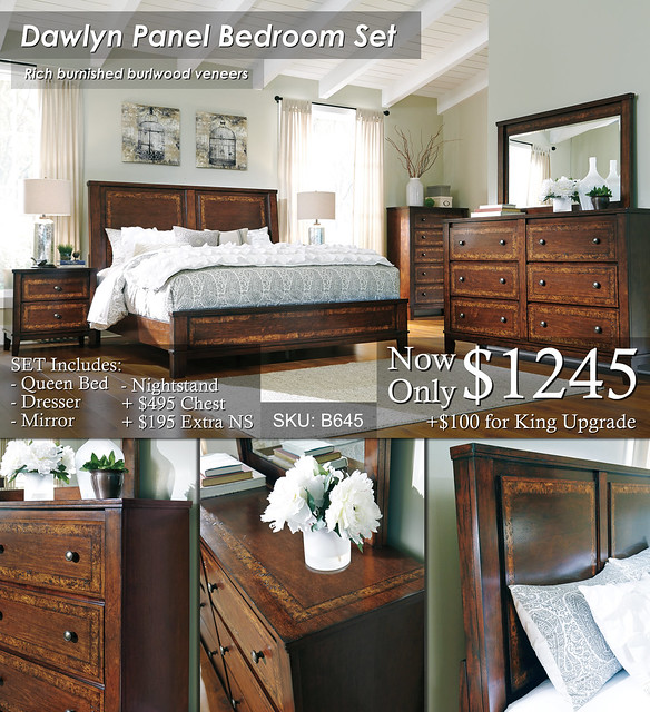 Dawlyn Panel Bedroom Set