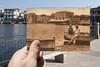 Vista sud-ovest del lago di Ganzirri - Messina Ieri e Oggi by Marco Crupi Visual Artist