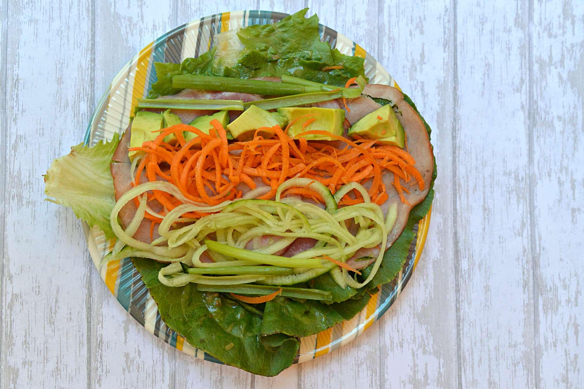 Ham Salad Wraps - Hillshire Farm Naturals