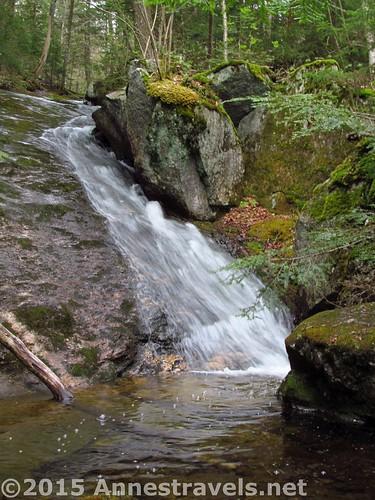 Waterfall along the Appalachian Trail, Grafton Notch State Park, Maine