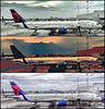 Delta 757 collage - iPhone6 by Ron Raffety