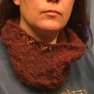 Circle of Love Lace Cowl