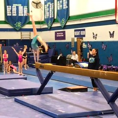 Off to a great start! 9.3 on beam