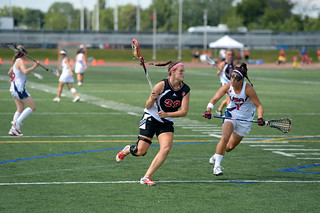 The 2013 FIL Women's Lacrosse World Cup. Gold Medal Game between Team USA and Team Canada