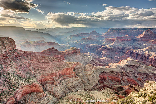 Ephemeral sunlight in the Grand Canyon