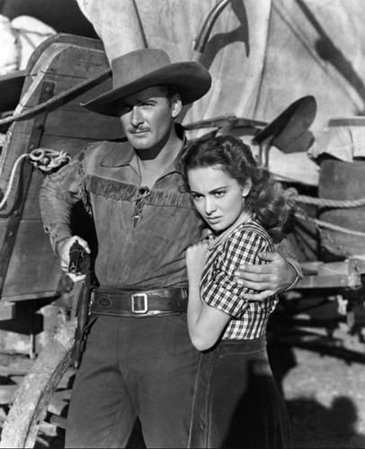 Still from ''Dodge City''1939