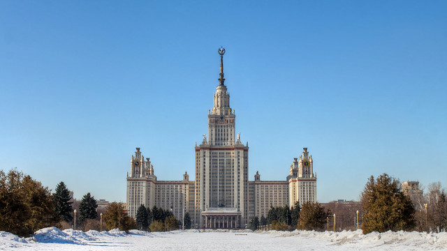 0352 - Russia, Moscow, Moscow State University HDR