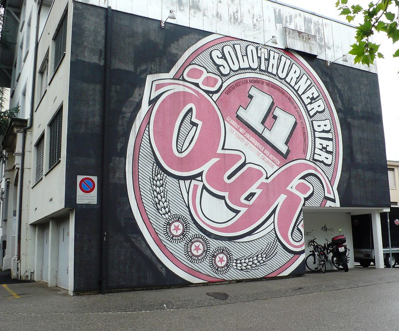 Oufi Beer sign - Weststadt