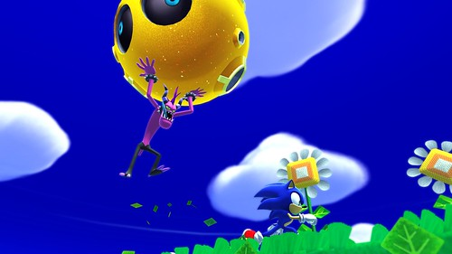 Sonic Lost World - E3 Screens