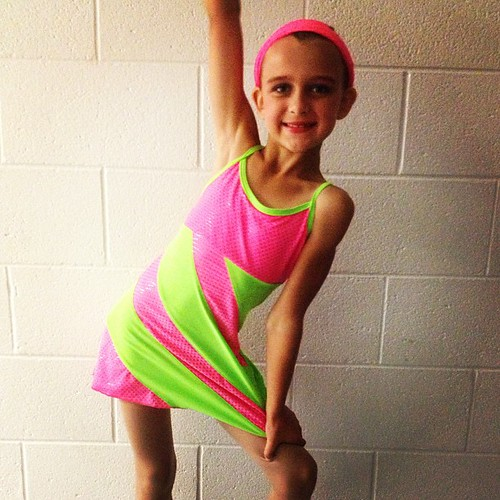 Dance recital - tap costume.