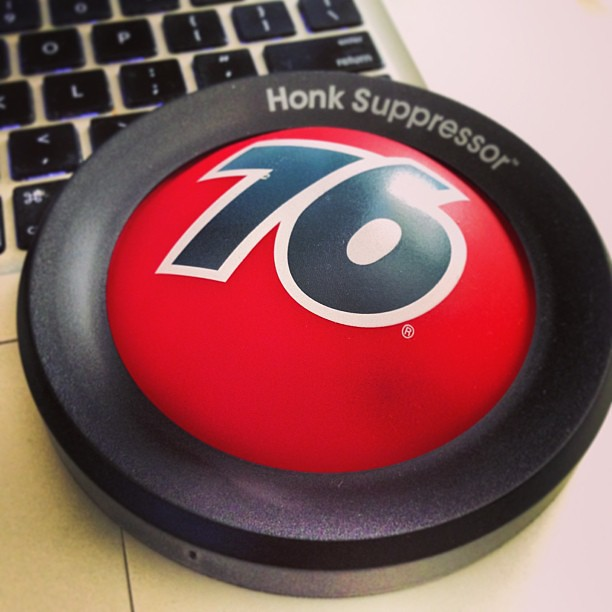 Honk Suppressor. #honkaholism