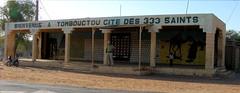 Mali. . Cartel `Ciudad de 333 santos'