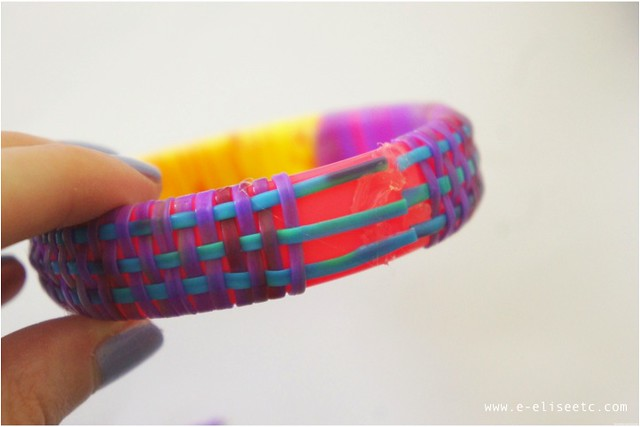 diy marc jacobs inspired woven bangle 7