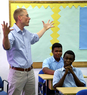 Ghana, U.S. teachers meet during Western Accord 13