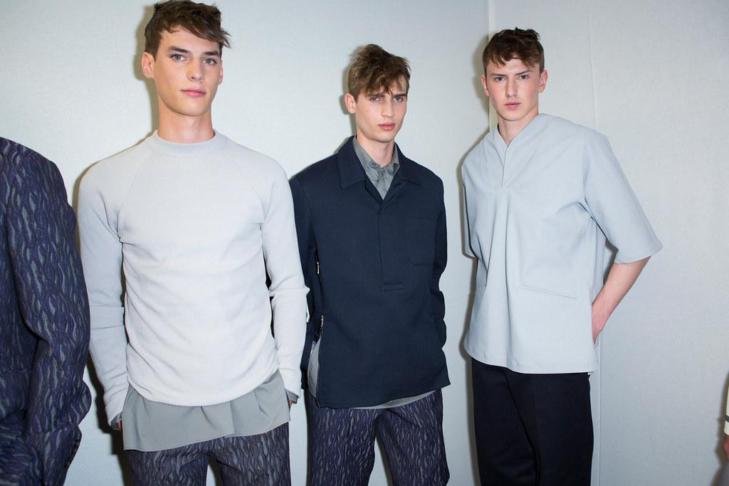SS14 Milan Z Zegna116_Tim Meiresone, James Gatenby, Jakob Christian(fashionising.com)